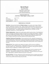 Medical Assistant Resume Objectives Resumes For Medical Assistants 100 Free Assistant Resume Objective 53