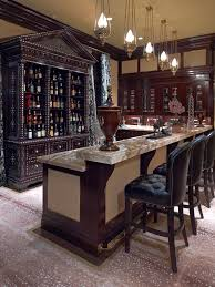 pendant lighting for bars. innovative liquor cabinet furniture in home bar traditional with pendant light next to patterned carpet lighting for bars a