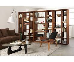 Room divider for basement guest room/hangout lounge. Woodwind 72h Open Back  Bookcases -