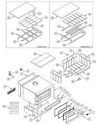 old fireplace parts osburn 2400 wood stove parts diagram older version