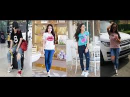 Latest Women <b>T</b>-<b>Shirt</b> With Gents <b>Pant</b> Style & Outfit <b>2019</b> | <b>New</b> ...