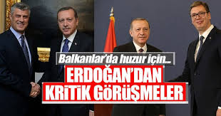 Image result for hashim thaci erdogan