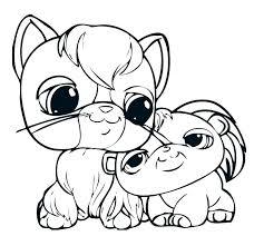 Littlest Pet Shop Zoe Coloring Pages Betterfor