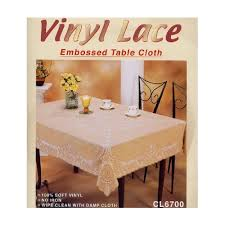 dolphin collection cl6700 72rd vinyl lace tablecloth round