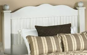 beadboard bedroom furniture. White Beadboard Bedroom Curved Headboard Finished In Close Up Furniture .