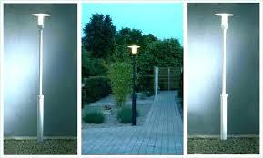 lamp post lights carriage in lighting solar outdoor paradise garden gar