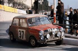 The Mini Mini Cooper At The Monte Carlo Rally 50th Anniversary Evo