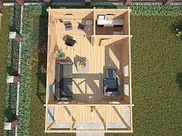 floor plan for garden office garden