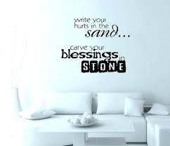 written wall art stickers bedroom wall writing write your hurts in the stone wall art decals written wall