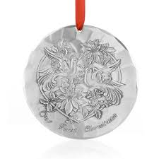 Our 1st Christmas Ornament, Aluminum - Wendell August Ornaments