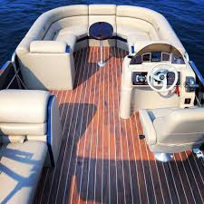 beautiful teak wood flooring bimini top for sun protection anchor and life jackets included free dock slip with al