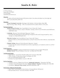 Pediatric Registered Nurse Sample Resume Sample Cover Letter For