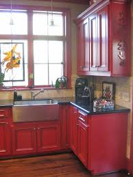 Small Picture Best 20 Red kitchen cabinets ideas on Pinterest Red cabinets