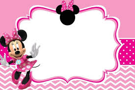 Free Minnie Mouse Birthday Invitations Minnie Mouse Birthday Party Invitation Template Free In 2019