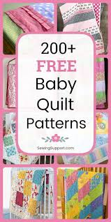 free baby quilt sewing patterns