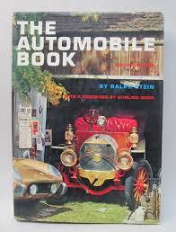hardbound the automobile book by ralph stein