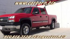For Sale - 2005 Chevy Silverado 2500 Crew Cab 4x4 at Car Barn in ...
