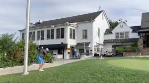Hero hits shot over clubhouse during member-guest event at Philadelphia  Cricket Club