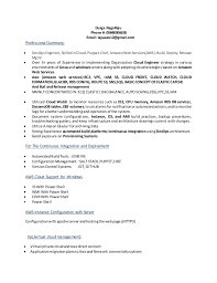 Devops resume. Durga NagaRaju Phone #: 09848906658 Email:  rajuaws12@gmail.com Professional Summary: ...