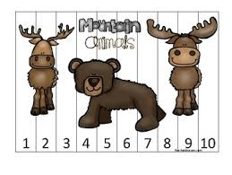 They share about 98.7 percent of their dna sequence with chimpanzees and bonobos, which are the animals most closely related. Mountain Animals Themed 1 10 Number Sequence Puzzle Game Printable Preschool