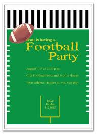 Football Party Invitations Templates Free Printable Football Party Invitation Template