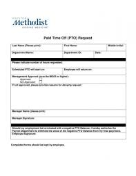 Leave Of Absence Form Template 019 Template Ideas Vacation Request Form Leave Of Imposing