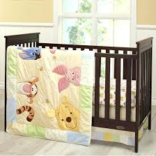 winnie the pooh nursery bedding gray and white color for baby nursery bedding with