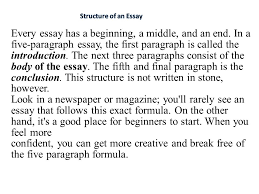 Do Essays Have Paragraphs Can An Essay Have More Than 3 Body Paragraphs Essay Academic Writing