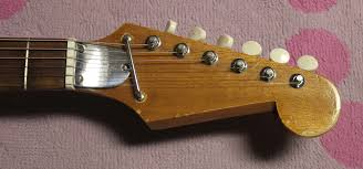 "late 1960s kawai teisco ese electric guitar drowning in i was initially totally stumped as to who made this guitar as usual there aren t any identifying markings anywhere normally i just say ""kawai"" when i see"