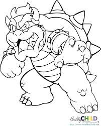 Coloring Pages Mario Coloring Book Super Games Bros Pages X Pixels