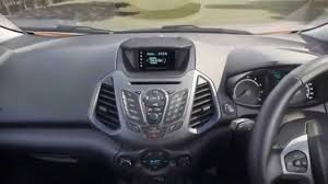 2015 Ford Ecosport - Interior (HD video) - YouTube