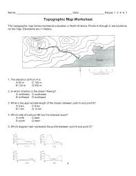 topographic map reading worksheet answers – ejgracellc.com