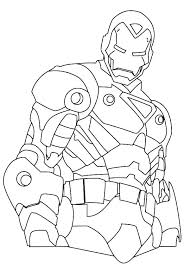 Coloring Pages Iron Man Coloring Sheet 2 Pages To Print Sheets