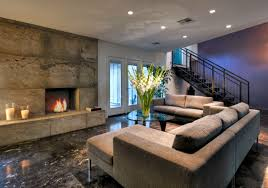 basement interior design.  Basement Modern Basement Ideas To Prompt Your Own Remodel  Sebring Services To Interior Design D