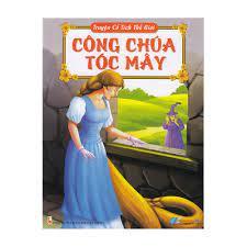 Sách - Truyện Cổ Tích Thế Giới - Công Chúa Tóc Mây - 8935072940355 | Nông  Trại Vui Vẻ - Shop