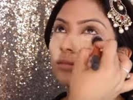 indian bridal face makeup