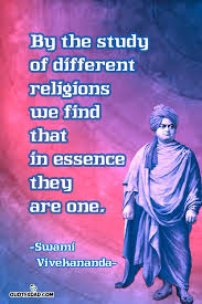 Vivekananda Quotes Beauteous By The Study Of Different Religions Swami Vivekananda Quotes