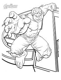 Small Picture The Avengers Character Hulk Coloring Page Download Print