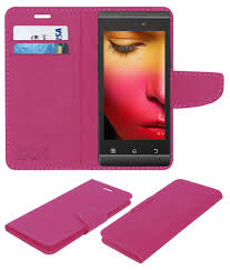 Xolo Q500s Ips Flip Cover by ACM - Pink ...