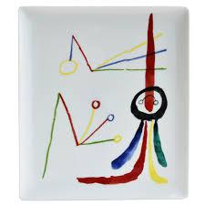 Fundacio Joan Miro Designer Crossword A Toute Epreuve Joan Miro Rectangular Tray 26 5 X 23 5 Cm
