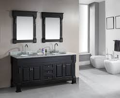 small bathroom double vanity. Design Element Marcos Double Sink Vanity Set With Carrara White Marble Countertop, 72-Inch - Bathroom Vanities Amazon.com Small S