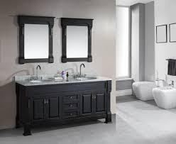 design element marcos double sink vanity set with carrara white marble countertop 72 inch bathroom vanities com