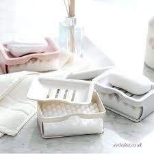 bathroom soap holder holders bunnings glass suction