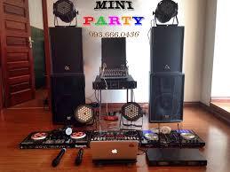Cho Thuê Bàn DJ Siêu Rẻ - Cho thuê Dàn Âm Thanh - Ánh Sáng - LET'T PARTY  Combo MINI PARTY + 4 Loa Party: 2 DK Super Bass, 2 Marten Super