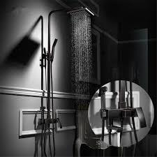 Schwarz Kupfer Die Waschbecken Mischbatterie Wasserfall Bad