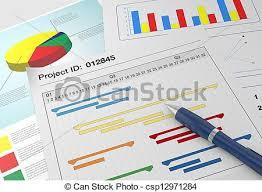 Paper Gantt Chart Project Management