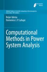 Computational Methods In Power System Analysis Reijer Idema Springer