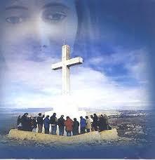 Resultado de imagen para cruz de orando con maria santisima