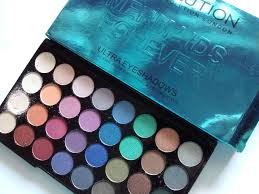makeup revolution ultra 32 shade eyeshadow palette mermaids forever review