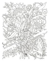 Free Coloringges Lmjge Spring Mandala Nature For Adults Realistic